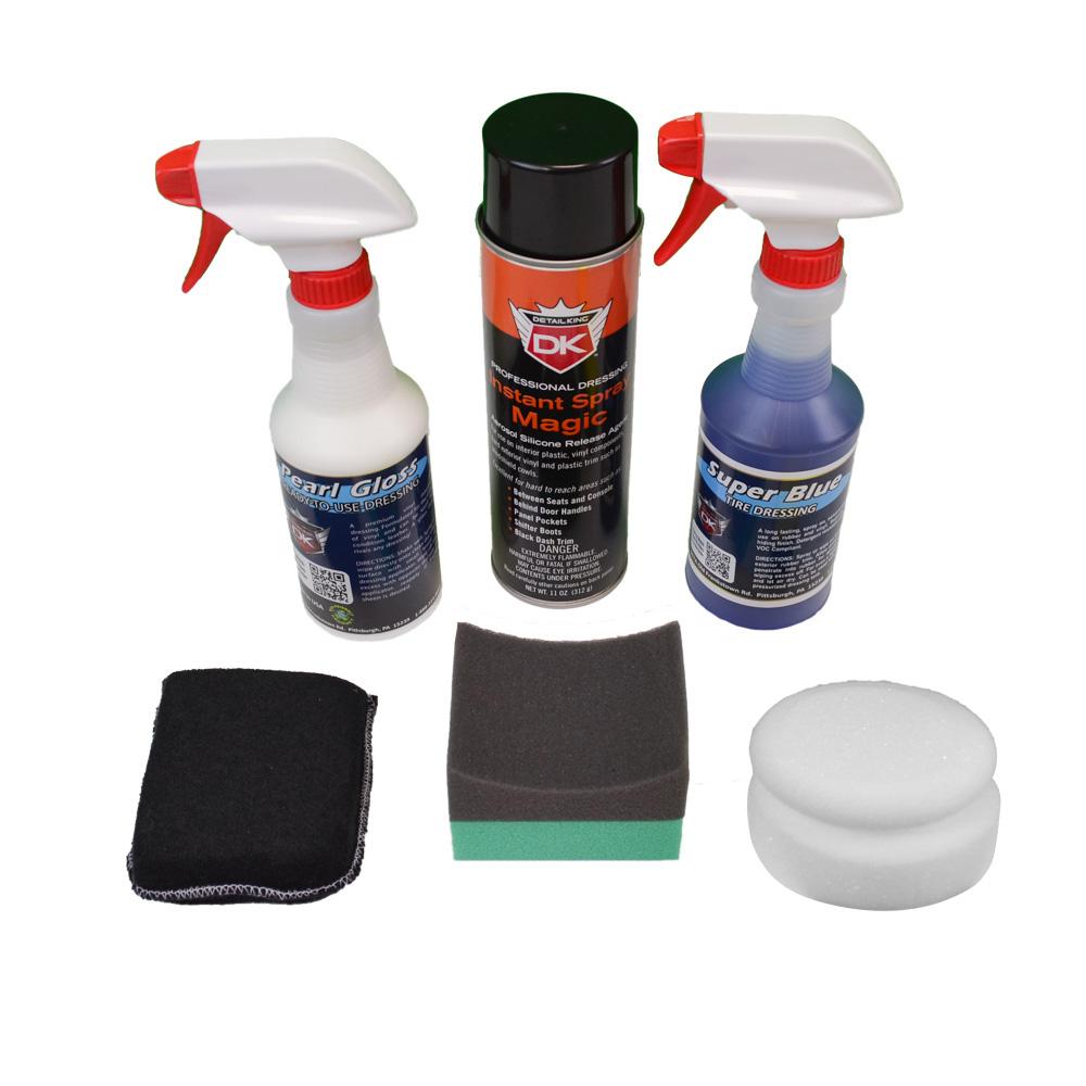 tire dressing vinyl plastic interior dressing value kit. Black Bedroom Furniture Sets. Home Design Ideas
