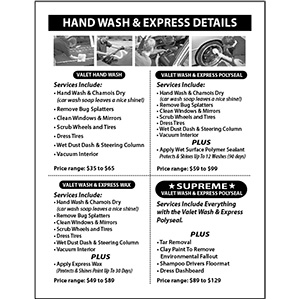 Car Detailing Services Flyer