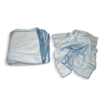 Auto microfiber glass cloth for Glass cleaning towels