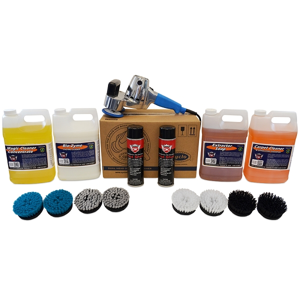 Interior Car Detailing Package: Cyclo Scrubber Polisher Package