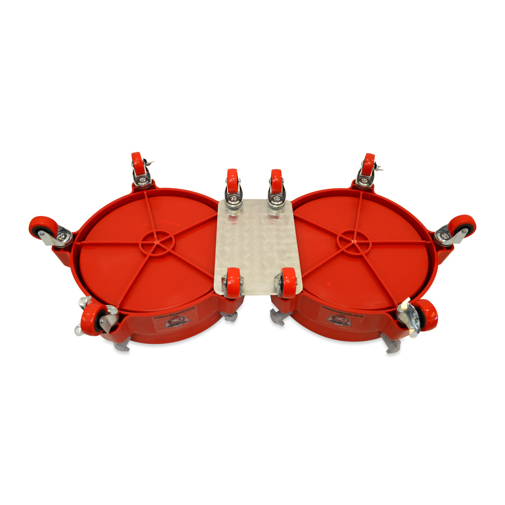 Grit Guard Double Bucket Dolly