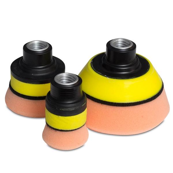 flex 1� 2� amp 3� backing pads for pe8 mini polisher