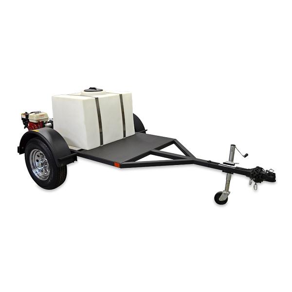 mobile car wash trailer