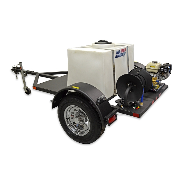 Mobile Car Wash Trailer