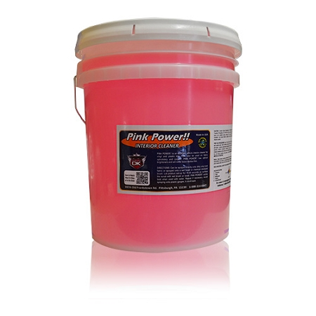 pink power automotive interior cleaner 5 gallon pail. Black Bedroom Furniture Sets. Home Design Ideas
