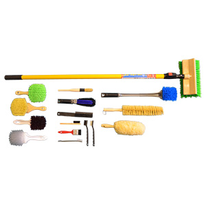 car washing brush kit. Black Bedroom Furniture Sets. Home Design Ideas