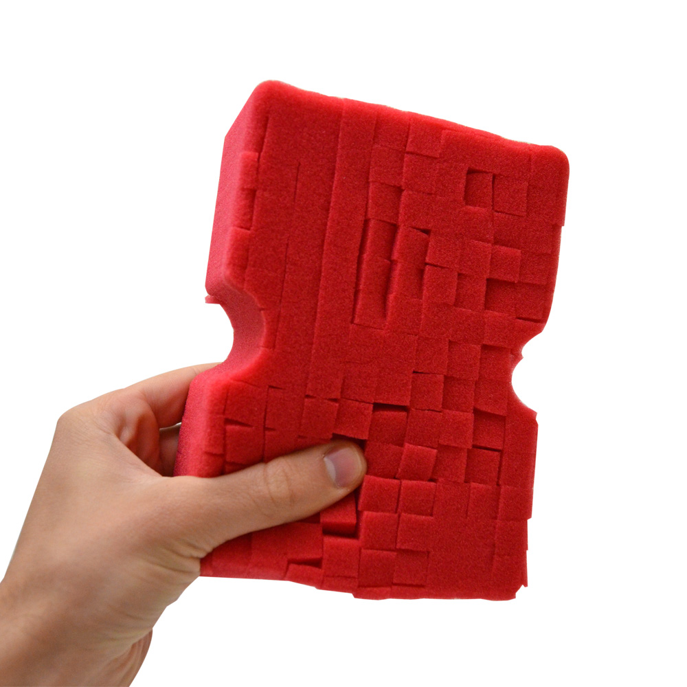 Optimum Big Red Car Wash Sponge