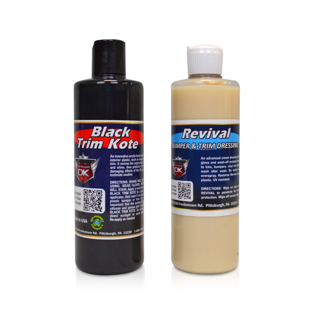 Car trim restorer with dressing - Restore car interior plastic trim ...