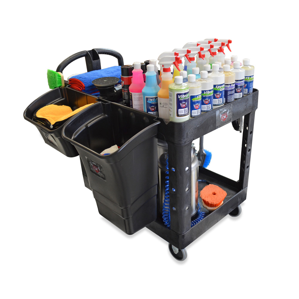 Car Detailing Supplies >> Car Wash & Auto Detailing Cart
