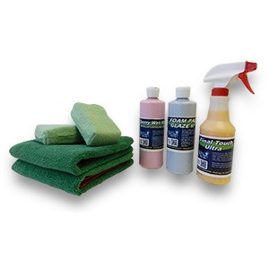 "Car Care ""Deluxe Buff N Wax"" Value Kit"