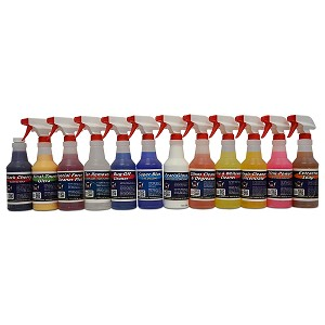 Auto Detailing Chemical Kit For Interior & Exterior (12)