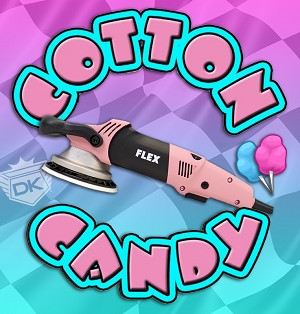 "Limited Edition ""Cotton Candy"" Flex XC3401VGRP Polisher"