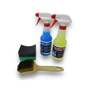 "Car Care ""Tire White Wall Cleaning & Dressing"" Value Kit"