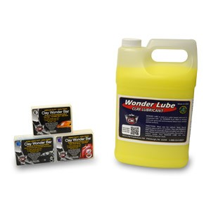 Car Detailing Clay Bars (3) One Of Each w/Wonder Lube
