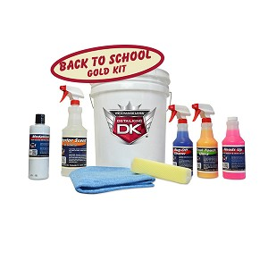 Back To School Gold Car Care Kit
