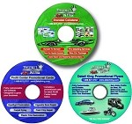 ALL 3 New CD's - Flyers - Door Hangers - Custom Service Menu Booklet Value Package