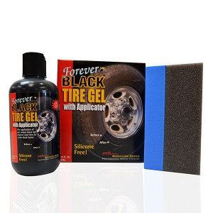 Forever Black Tire Gel Dressing - 8 oz