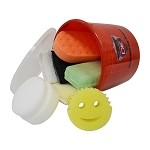 Bucket Of Various Applicators & Sponges Value Kit (7)