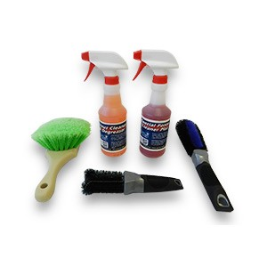 "Car Care ""Wheel Cleaning & Scrubbing"" Value Kit"