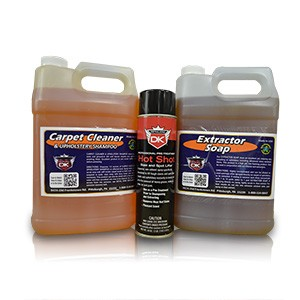 Carpet Extractor Professional Interior Chemical Kit