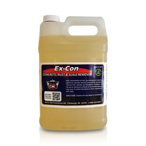 EX Con Concrete, Rust, Tree Sap & Scale Remover