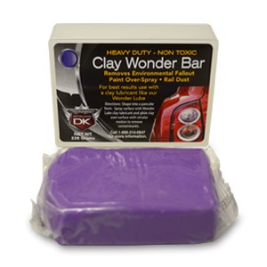 Auto Detailing Clay Wonder Bar - Heavy Cut