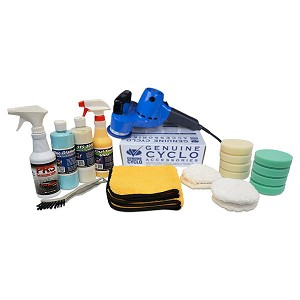 "Cyclo Polisher ""Concourse"" Value Package"