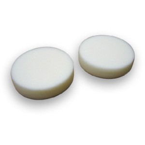 Cyclo White Hook and Loop Buffing Pads (1 Pair)