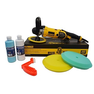 "DeWalt DWP849X Buffer ""Buff 'N Glaze"" Value Package"