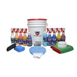 Car Care Deluxe Kit Gift Bucket