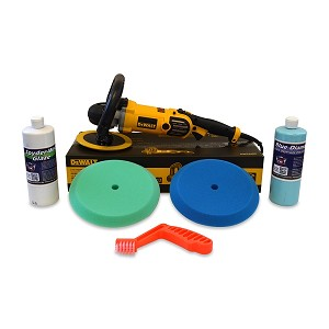 "DeWalt DWP849X High Speed Buffer ""Swirl Remover"" Value Package"