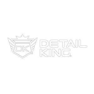 Detail King White Sticker