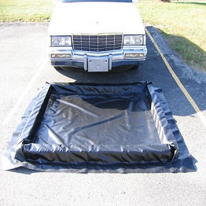 Engine Compartment Water Containment Mat - 4' x 5'