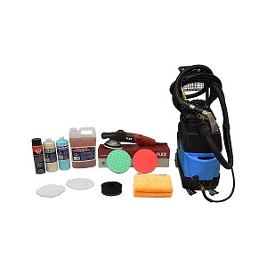 Mytee Lite III Extractor & Flex XC 3401VRG Dual Action Polisher Value Package