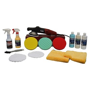 "FLEX XC3401VRG Polisher ""Swirl & Oxidation Remover"" Value Package - Free Shipping"