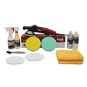 "FLEX XC3401VRG Polisher ""Time Saver"" Value Package - Free Shipping"