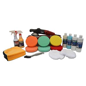 "FLEX XC3401VRG Polisher ""Correct & Protect"" Value Package - Free Shipping"