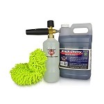 Black Cherry Qnix Foam Cannon Car Wash Kit