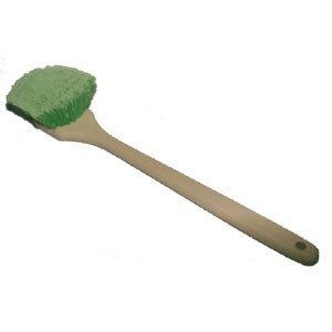 Long Flagged Bristle Body Brush