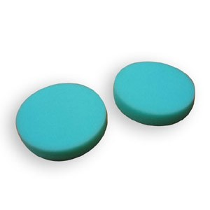 Cyclo Green Hook and Loop Buffing Pads (1 Pair)