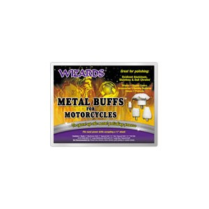 Wizards Metal Buff Kit for Motorcyles