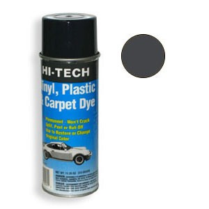Charcoal Gray Vinyl Plastic & Carpet Dye