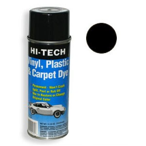 Black Vinyl Plastic & Carpet Dye