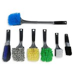 Professional Soft Grip Wheel Brush Value Package (7) Brushes