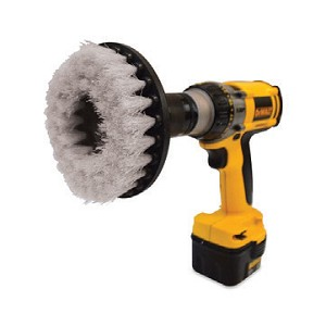 "Gray 5"" Drill Brush - Light Duty"