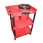 Grit Guard Universal Pad Washer & Detailing Cart COMBO