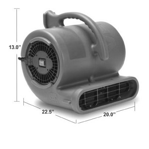 Automotive Air Mover 1/2 HP, 2 Speed, Plastic