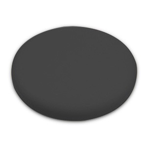 Lake Country 6.5 Inch Hybrid Black Finishing Pad