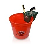 Car Interior Bucket - 2.5 Gallon w/Brush Container