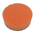 Lake Country CCS Orange Light Cutting/Heavy Polishing 4 Inch Spot Buff Foam Pad